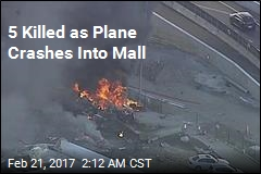 5 Killed as Plane Crashes Into Mall