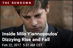 Milo 'Isn't Going Away'