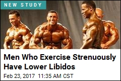 Men Who Exercise Strenuously Have Lower Libidos