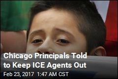 Chicago Schools Told to Keep ICE Agents Outside