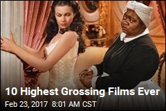 10 Highest Grossing Films Ever