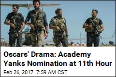 Oscars' Drama: Academy Yanks Nomination at 11th Hour