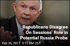 Republicans Disagree Over Whether Sessions Should Lead Russia Probe