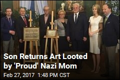 Nazi Son Returns Art Looted by Mom to Poland