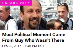 Most Political Moment Came From Guy Who Wasn't There