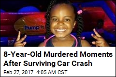 8-Year-Old Murdered Moments After Surviving Crash