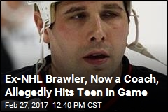 Ex-NHL Brawler, Now a Youth Coach, Suspended After Fight
