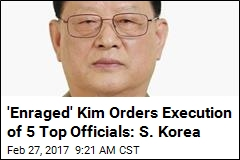 Seoul: North Korea Is Executing Top Honchos Again