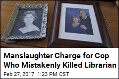 Fla. Cop Charged in Fatal Shooting of Elderly Librarian