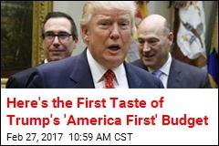 Trump's 'America First' Budget Ups Defense Spending 10%