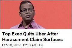 Uber Exec 'Quits Over Sex Harassment Allegation'