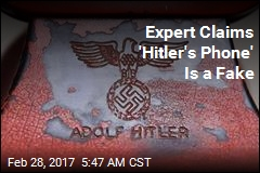 Major Denies Claims 'Hitler's Phone' Is a Fake