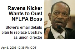 Ravens Kicker Wants to Oust NFLPA Boss