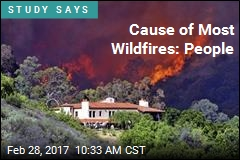 Cause of Most Wildfires: People