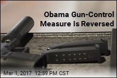 Obama Gun-Control Measure Is Reversed
