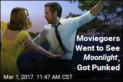 Moviegoers Went to See Moonlight , Got Punked