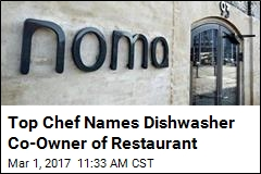 Loyal Dishwasher Now Co-Owner of Top Restaurant