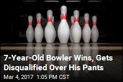 7-Year-Old Bowler Wins, Gets Disqualified Over His Pants