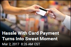 Hassle With Card Payment Turns Into Sweet Moment