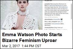 Emma Watson Starts Feminism Brouhaha With Risqué Photo