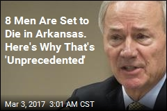 Arkansas Schedules 8 Executions Over 10 Days