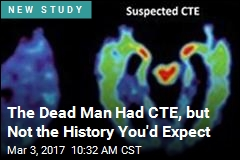 A First: Patient With CTE, No Brain Injury
