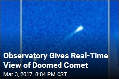 New Comet Discovered...Just Before It Smashes Into Sun