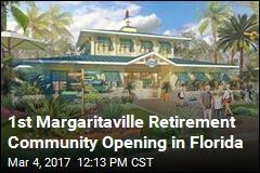 1st Margaritaville Retirement Community Opening in Florida