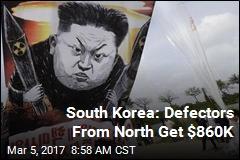 South Korea: Defectors From North Get $860K