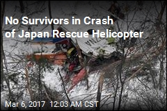 9 Die in Japan Rescue Helicopter Crash