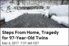 Steps From Home, Tragedy for 97-Year-Old Twins