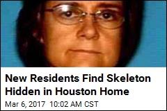 New Homeowner Adjusts Attic Board, Finds Bones