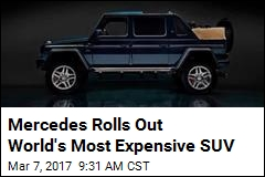 Mercedes Rolls Out World's Most Expensive SUV