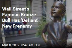 'Fearless Girl' Is Staring Down Wall Street's Bull