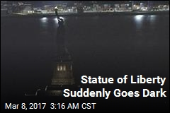 Statue of Liberty Mysteriously Goes Dark for Hours