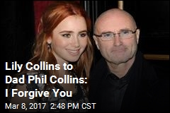 Lily Collins Pens Open Letter to Dad Phil Collins