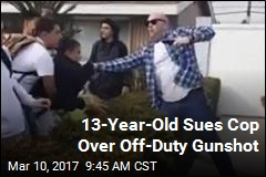 Teen Sues Cop Who Fired Gun During Off-Duty Spat