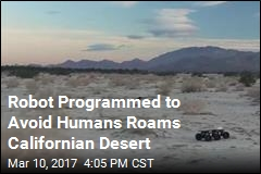 Robot Programmed to Avoid Humans Roams Californian Desert