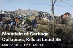 Mountain of Garbage Collapses, Kills at Least 35
