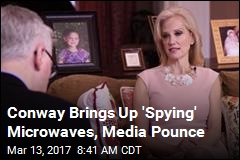 Much Ado About Conway's 'Spying Microwaves' Remark