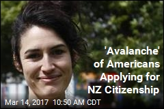 'Avalanche' of Americans Applying for NZ Citizenship