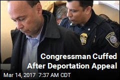 Congressman Cuffed in ICE Sit-In