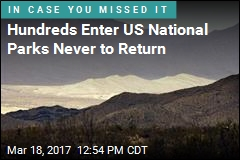 Hundreds Enter US National Parks Never to Return