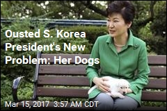 Ousted S. Korea President Left Her 9 Dogs Behind