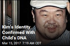 Kim's Identity Confirmed With Child's DNA