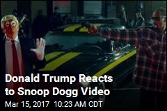 Trump Did Not Like That 'Failing' Snoop Dogg's Video
