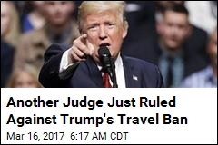 Trump's New Travel Ban Suffers 2nd Legal Blow