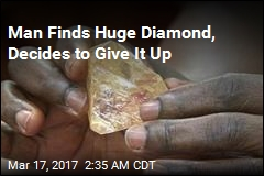 Pastor Finds Huge Diamond, Gives It to Goverment