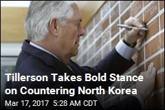 Tillerson: Military Action Against N. Korea 'an Option'