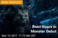 Beast Roars in Monster Debut